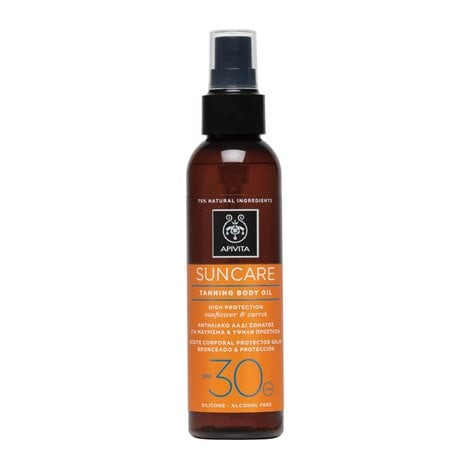 Tanning Body Oil SPF30 with Sunflower & Carrot